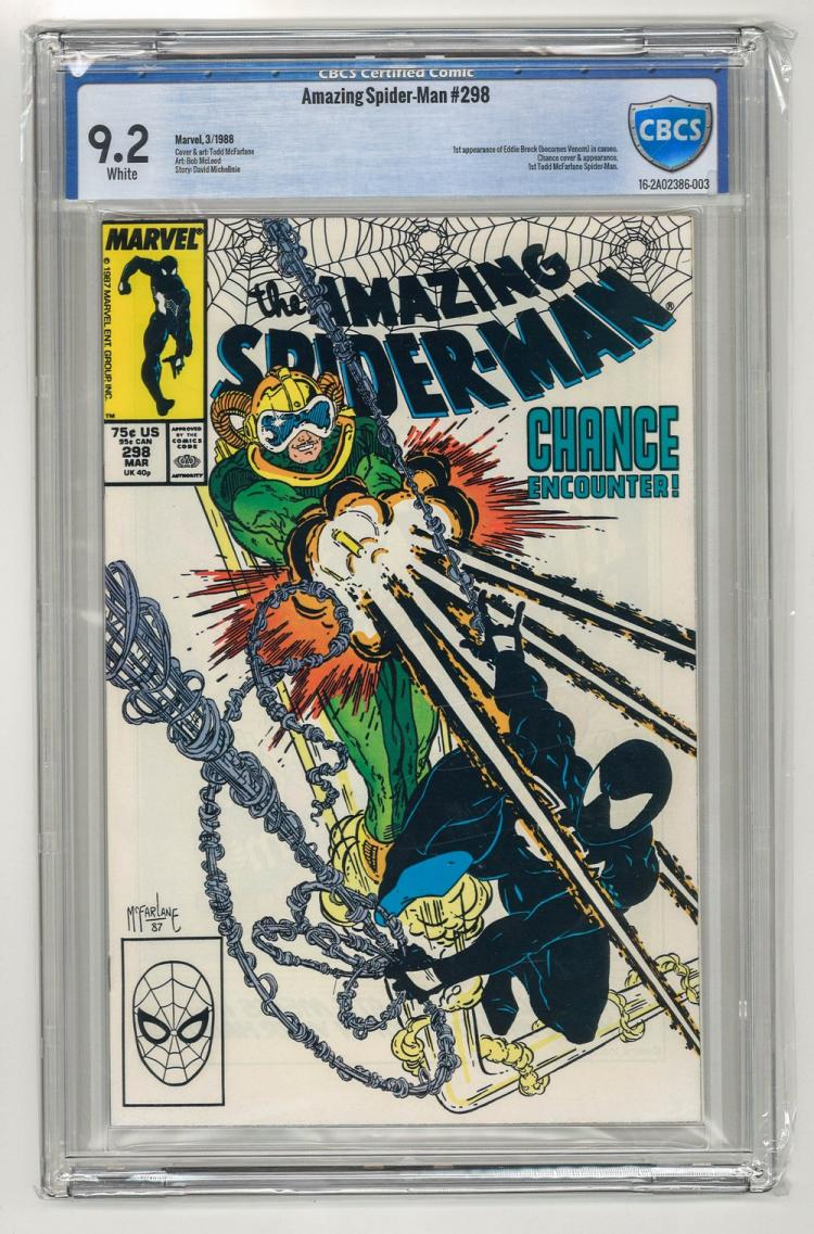 CBCS 9.2 Amazing Spider-Man #298 1988