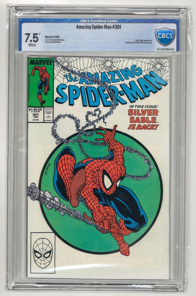 CBCS 7.5 Amazing Spider-Man #301 1988