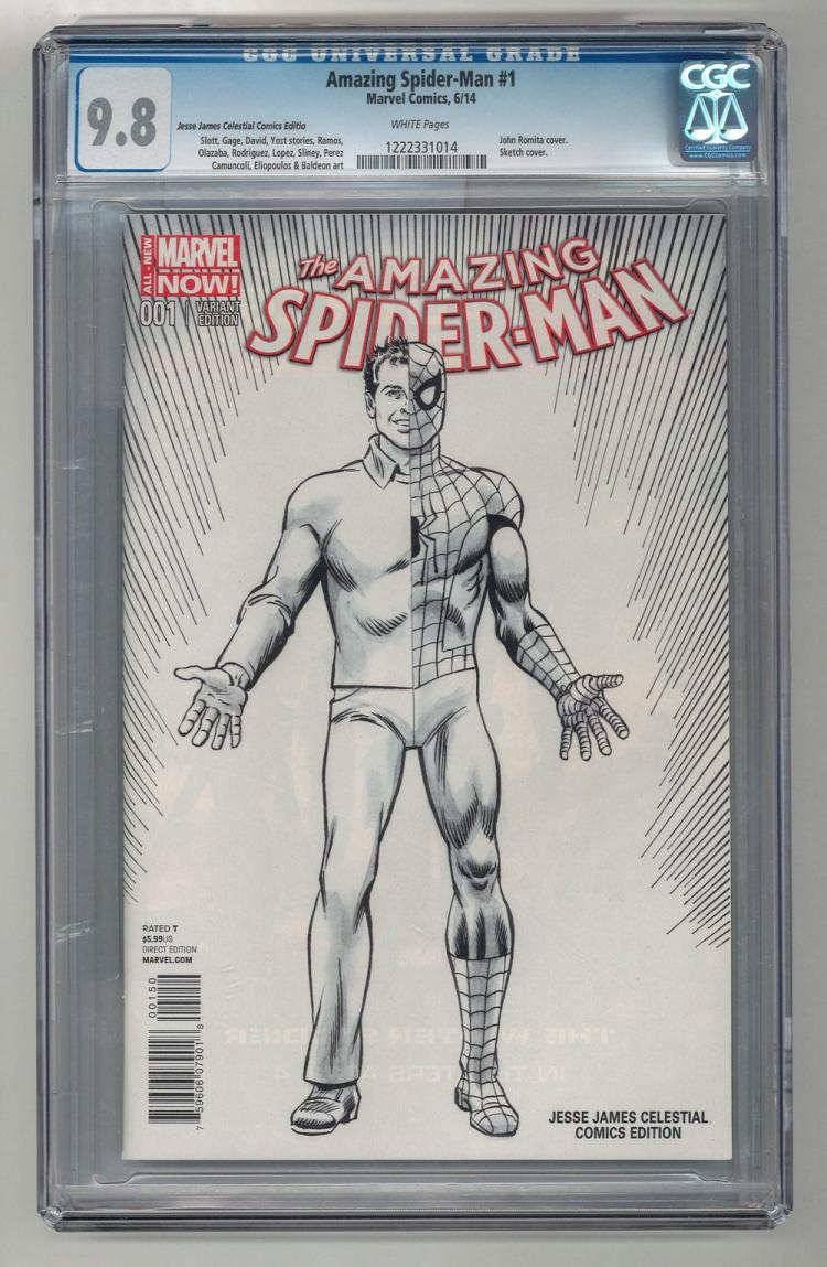 CGC 9.8 Amazing Spider-Man #1 2014