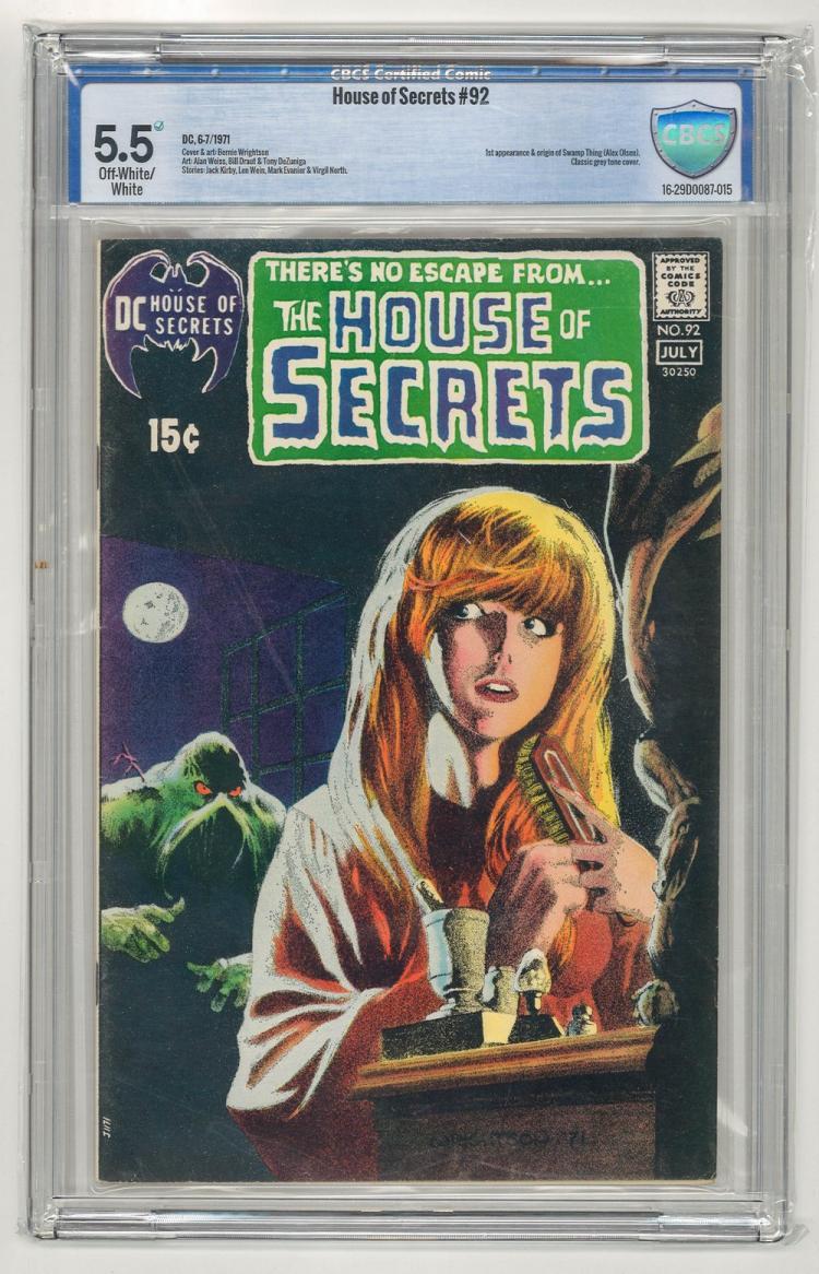 CBCS 5.5 House of Secrets #92 1971