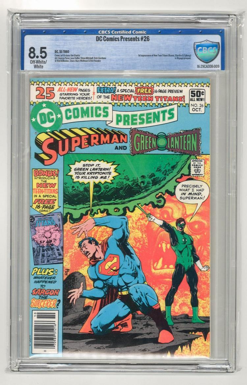 CBCS 8.5 DC Comics Presents #26 1980