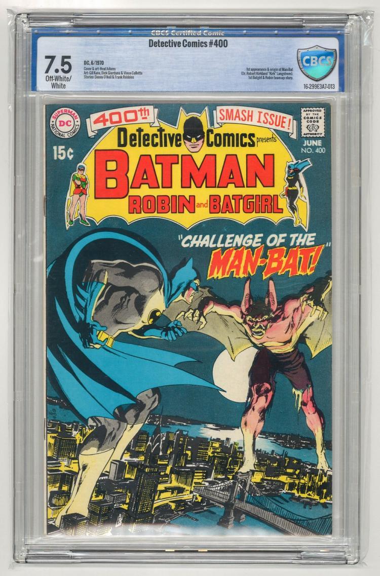CBCS Detective Comics #400 1970
