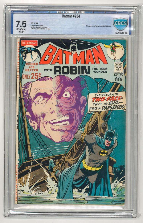 CBCS 7.5 Batman #234 1971