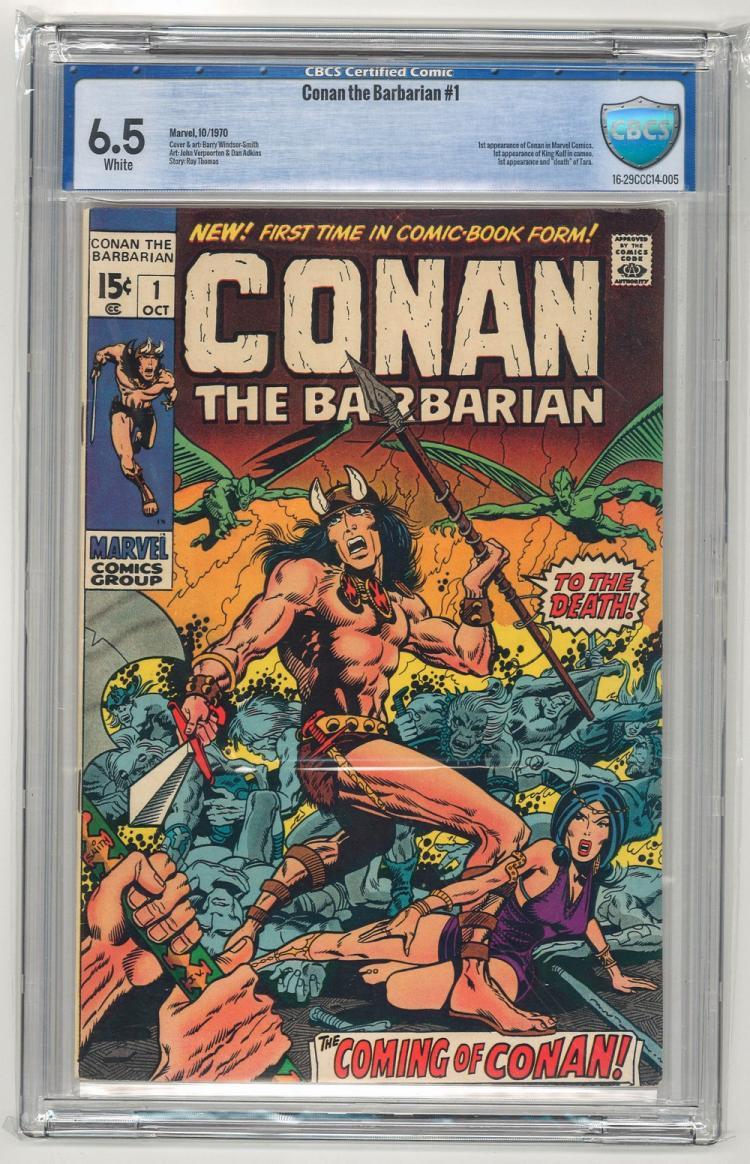 CBCS 6.5 Conan the Barbarian #1 1970