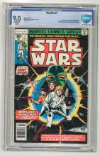 CBCS 9.0 Star Wars #1 1977