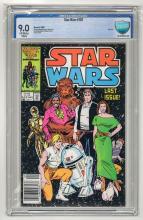 CBCS 9.0 Star Wars #107 1986