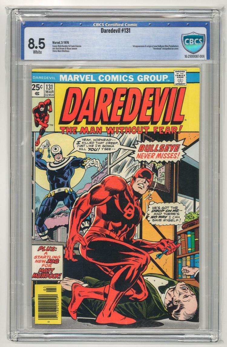 CBCS 8.5 Daredevil #131 1976