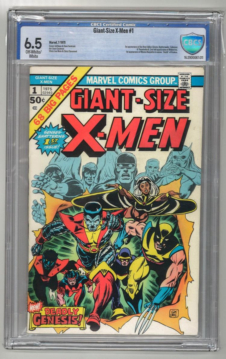 CBCS 6.5 Giant-Size X-Men #1 1975