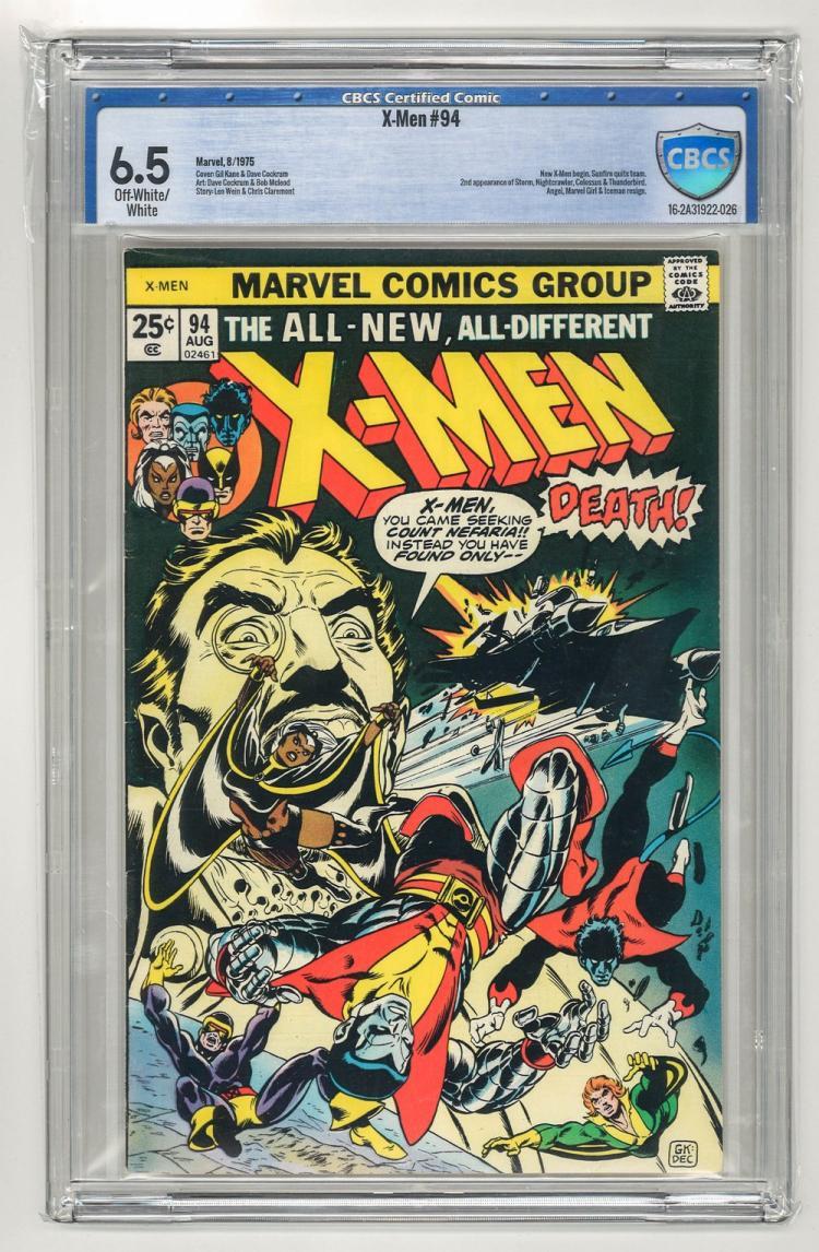 CBCS 6.5 X-Men #94 1975
