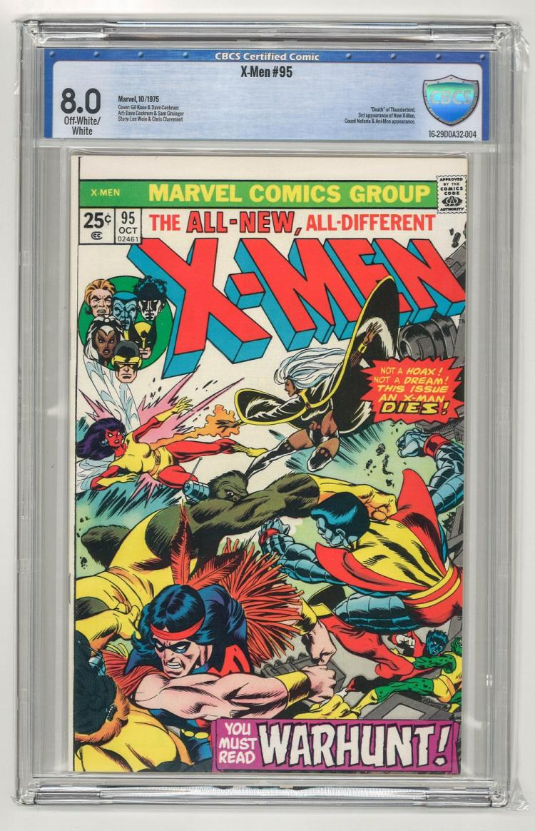 CBCS 8.0 X-Men #95 1975