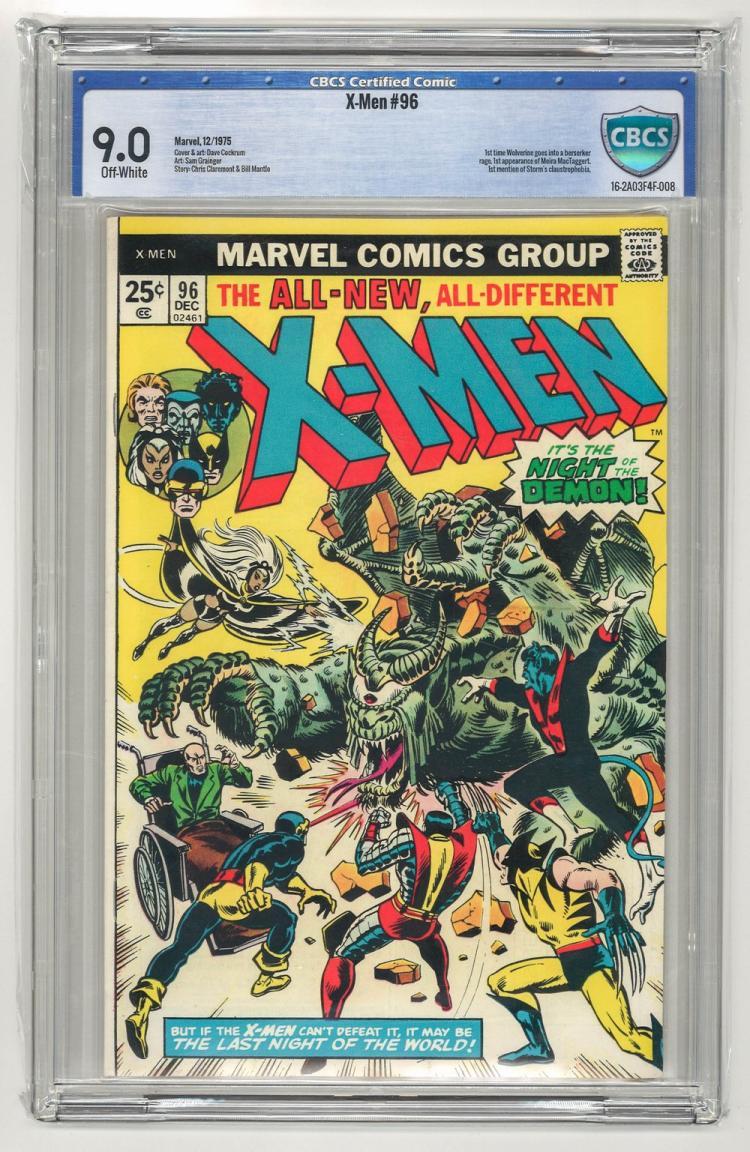CBCS 9.0 X-Men #96 1975
