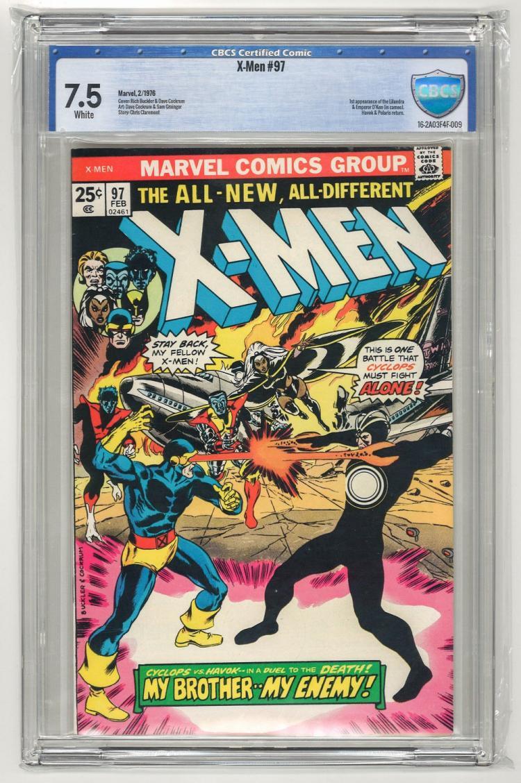 CBCS 7.5 X-Men #97 1976