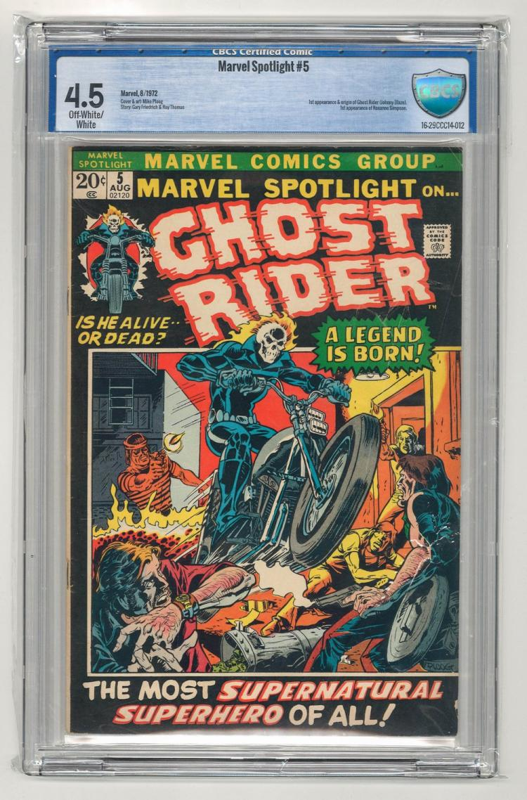 CBCS 4.5 Marvel Spotlight #5 1972