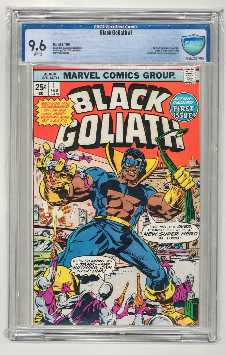 CBCS 9.6 Black Goliath #1 1976