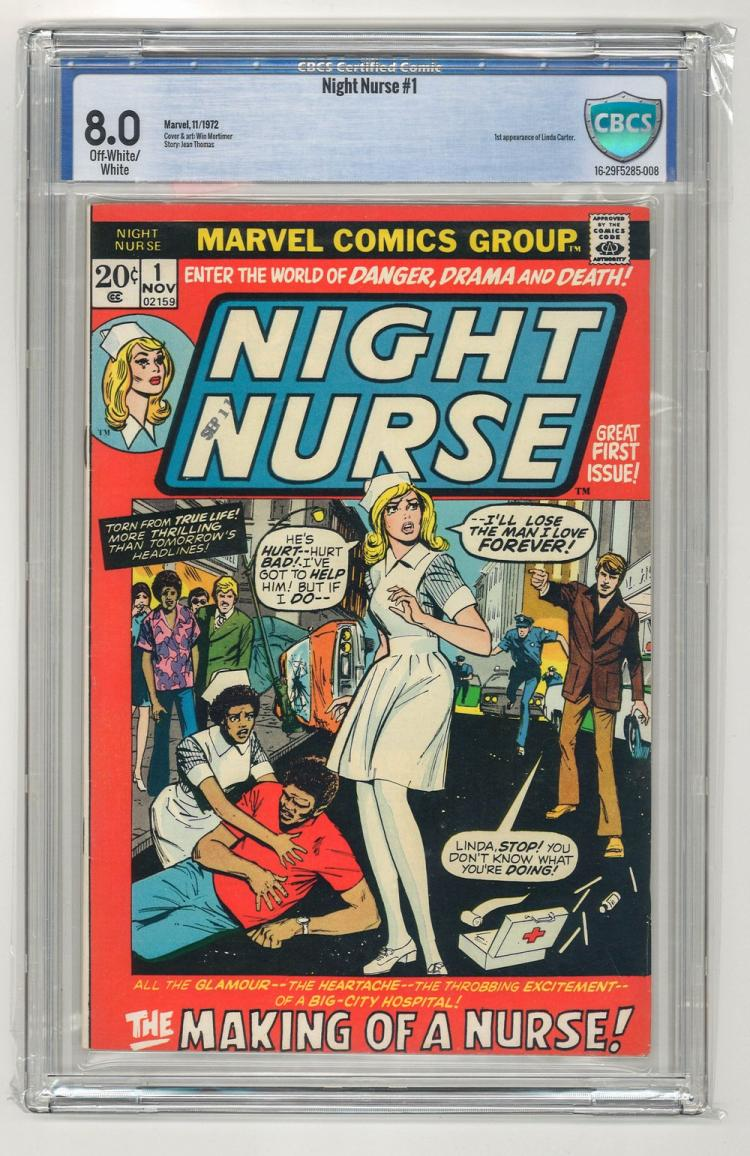 CBCS 8.0 Night Nurse #1 1972