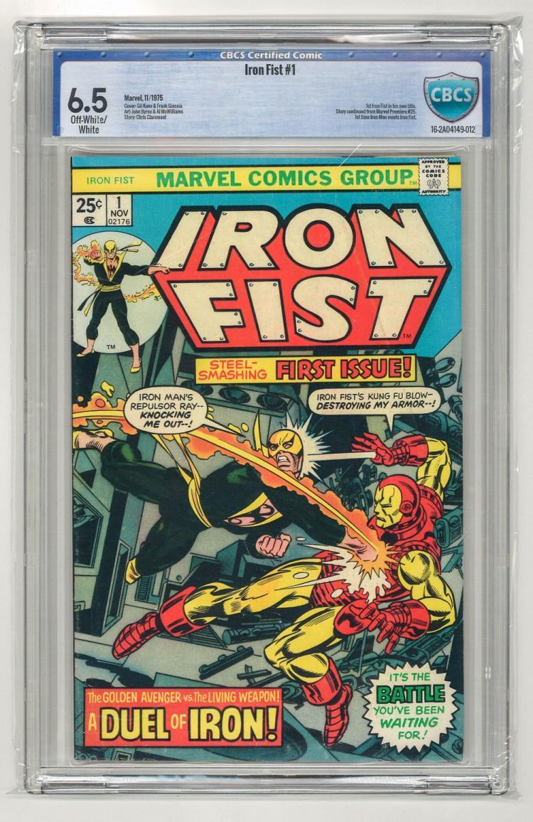 CBCS 6.5 Iron Fist #1 1975
