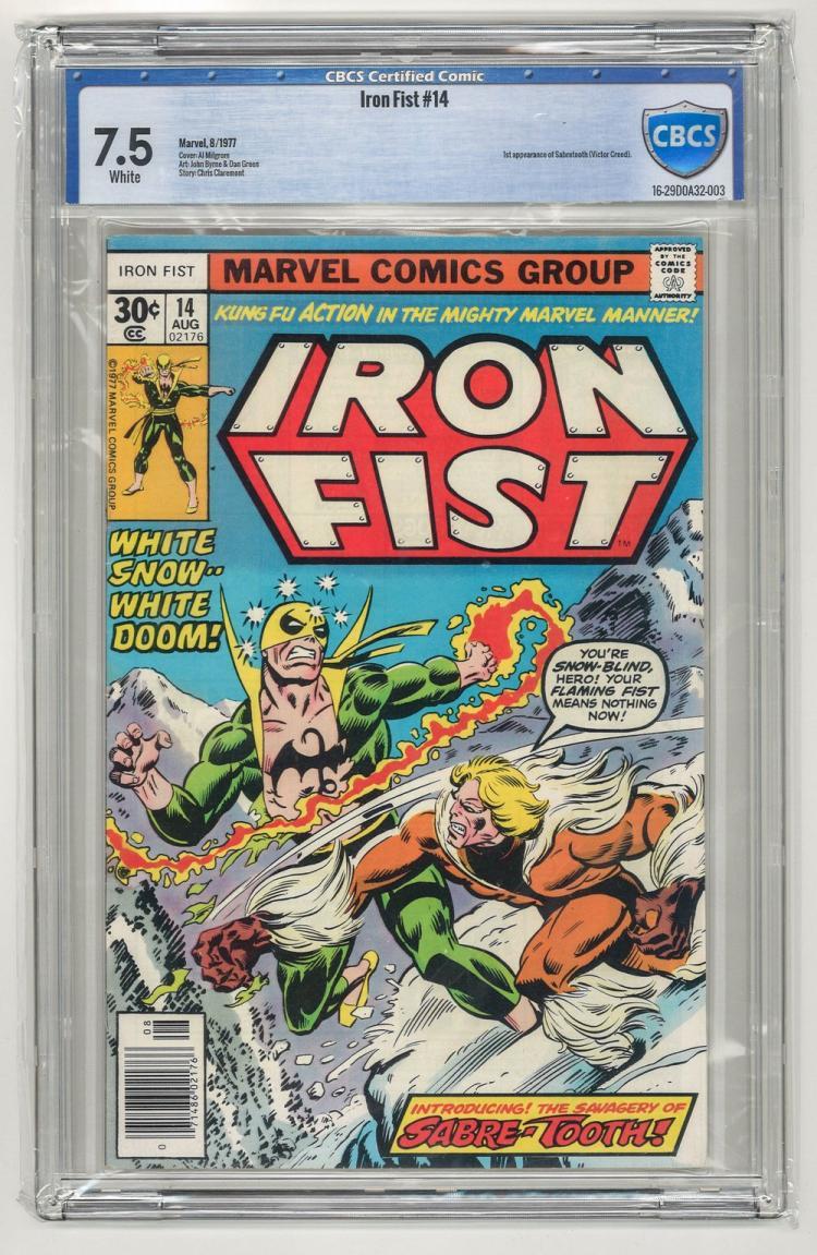 CBCS 7.5 Iron Fist #14 1977