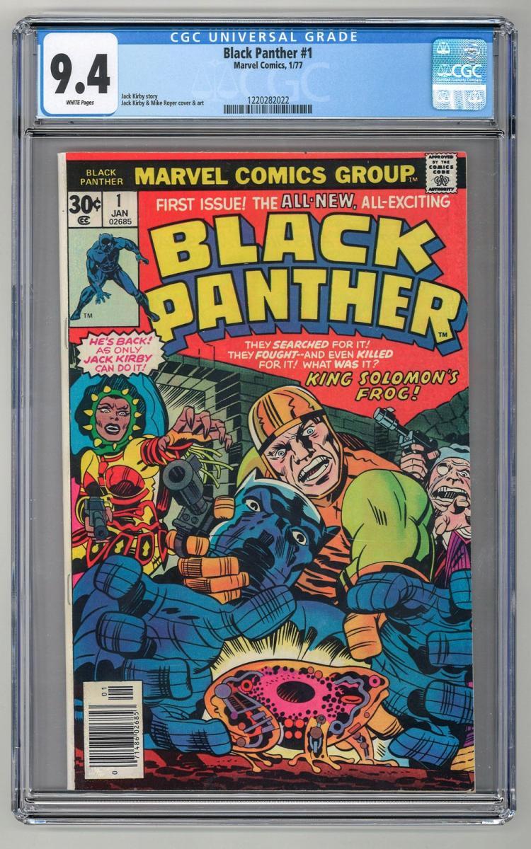 CGC 9.4 Black Panther #1 1977