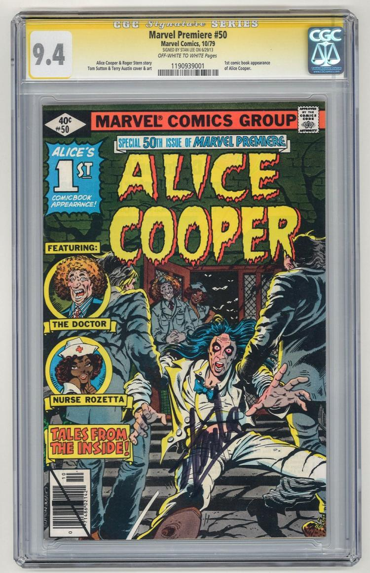 SIGNED CGC 9.4 Marvel Premiere #50 1979