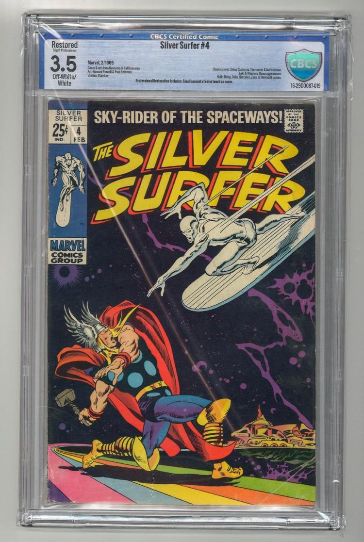 CBCS 3.5 Silver Surfer #4 1969