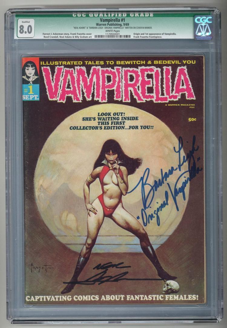 CGC 8.0 Vampirella #1 1969