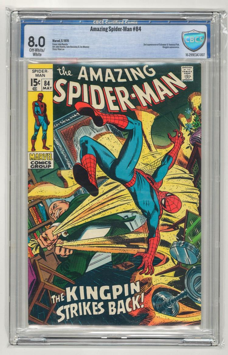 CBCS 8.0 Amazing Spider-Man #84 1970