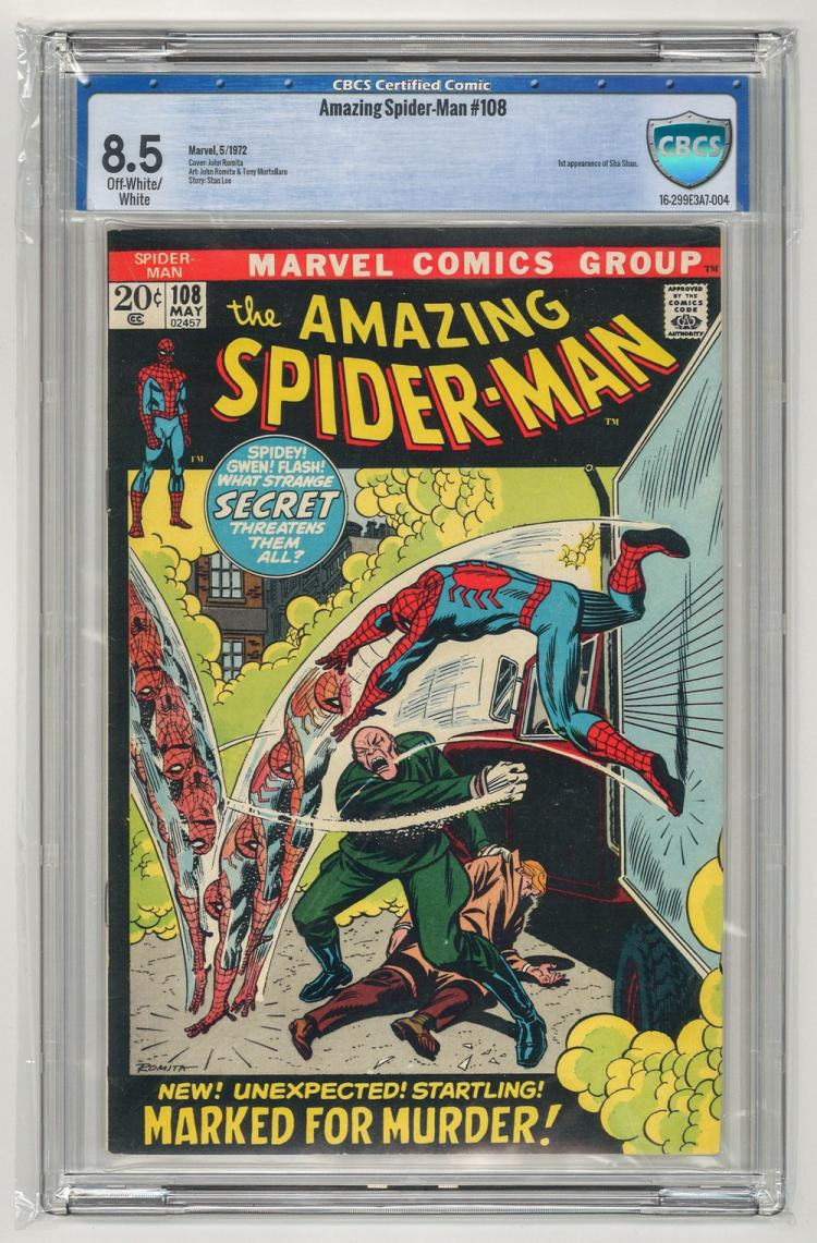 CBCS 8.5 Amazing Spider-Man #108 1972