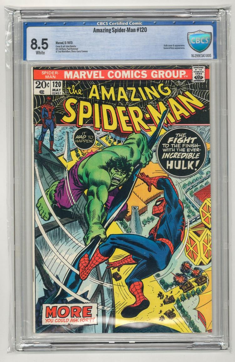 CBCS 8.5 Amazing Spider-Man #120 1973