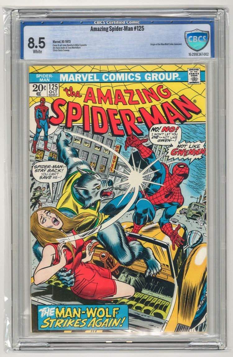 CBCS 8.5 Amazing Spider-Man #125 1973