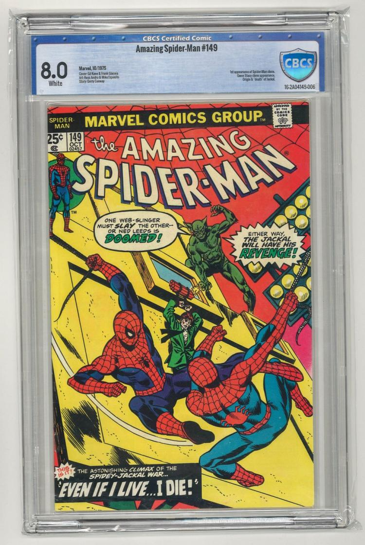 CBCS 8.0 Amazing Spider-Man #149 1975