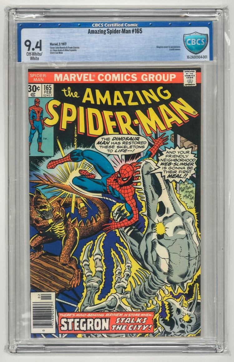 CBCS 9.4 Amazing Spider-Man #165 1977