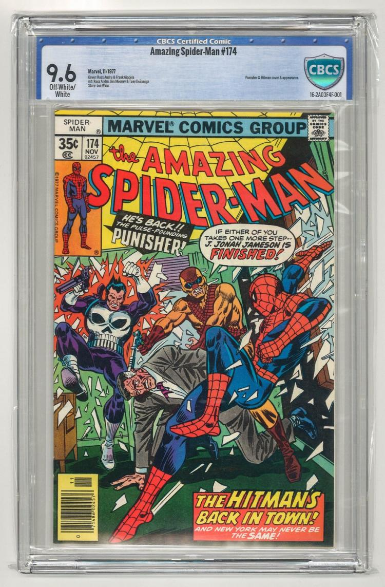 CBCS 9.6 Amazing Spider-Man #174 1977