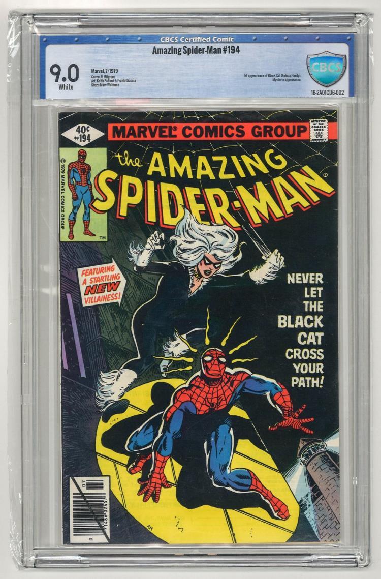 CBCS 9.0 Amazing Spider-Man #194 1979