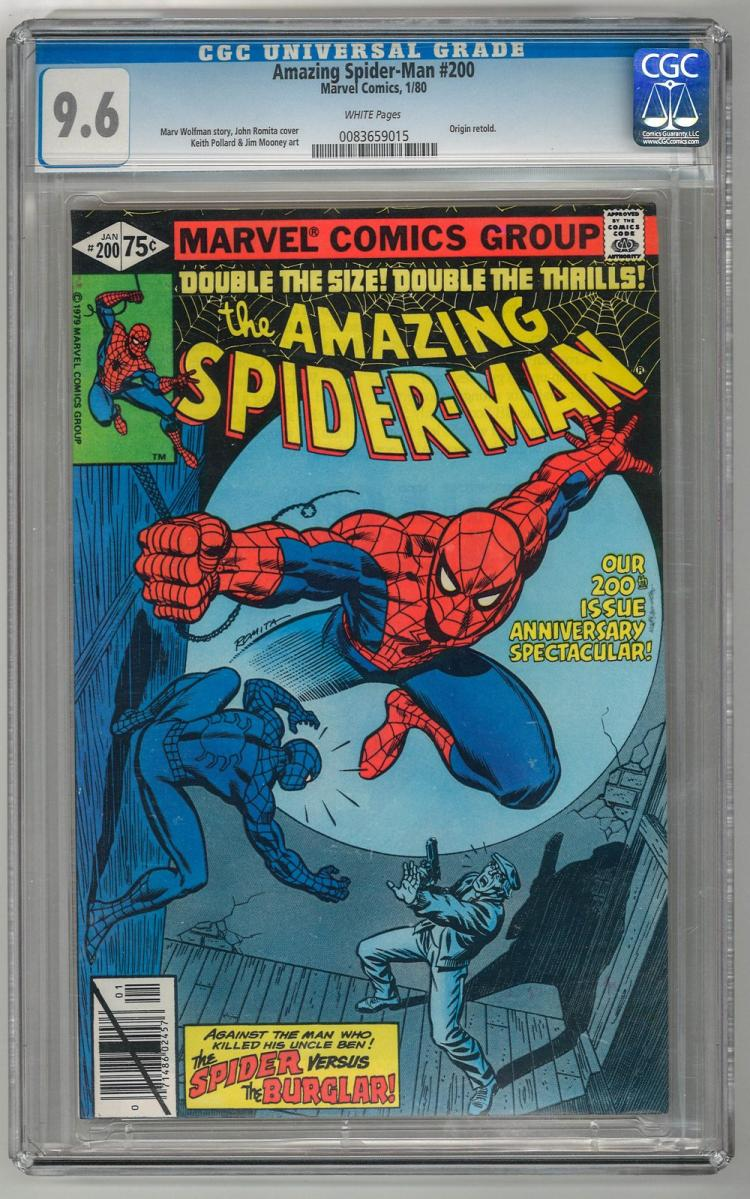 CGC 9.6 Amazing Spider-Man #200 1980