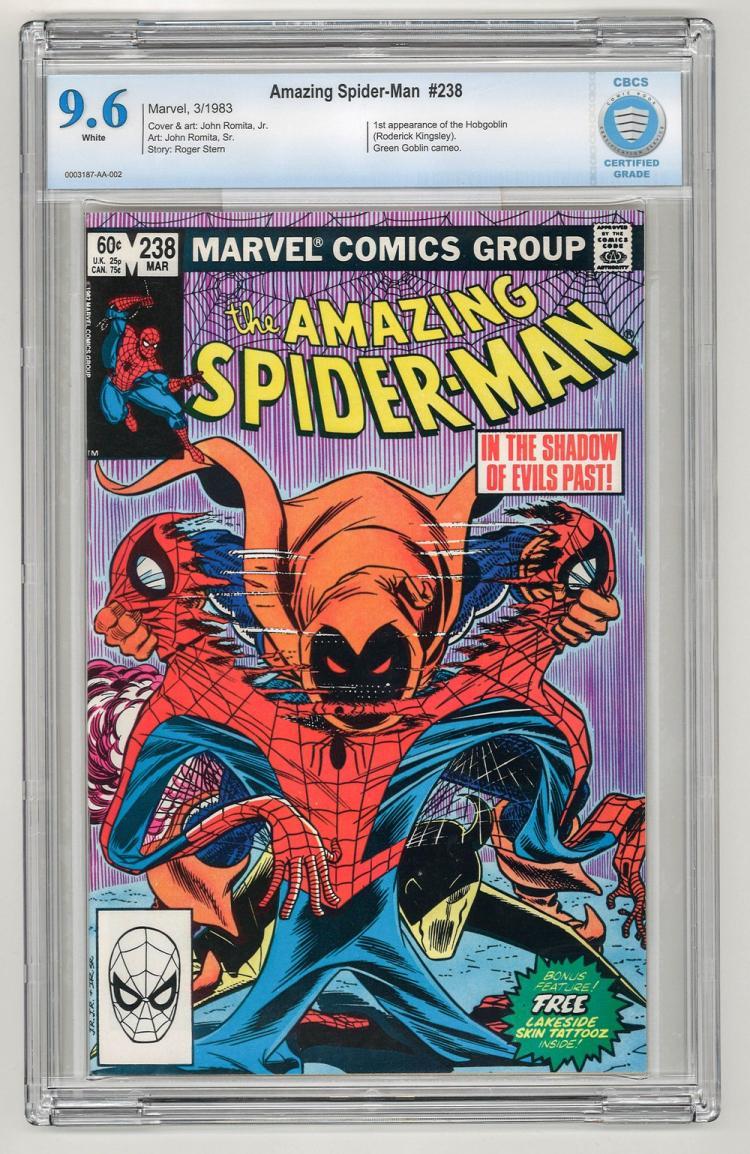 CBCS 9.6 Amazing Spider-Man #238 1983