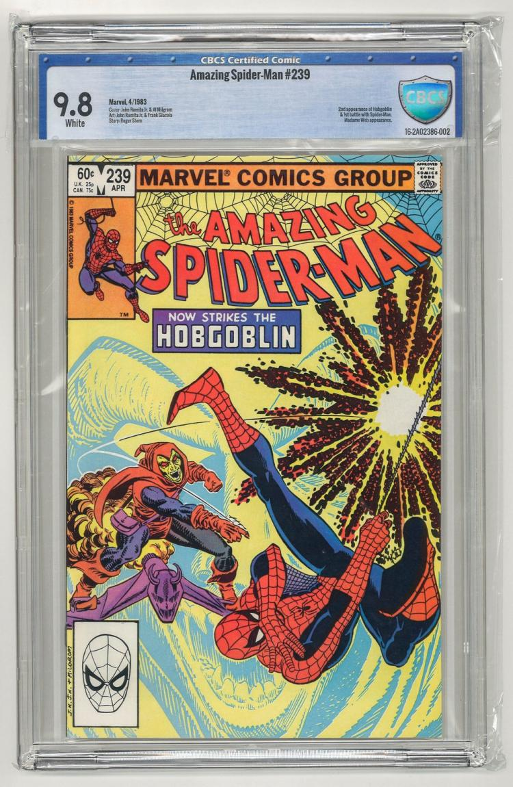 CBCS 9.8 Amazing Spider-Man #239 1983
