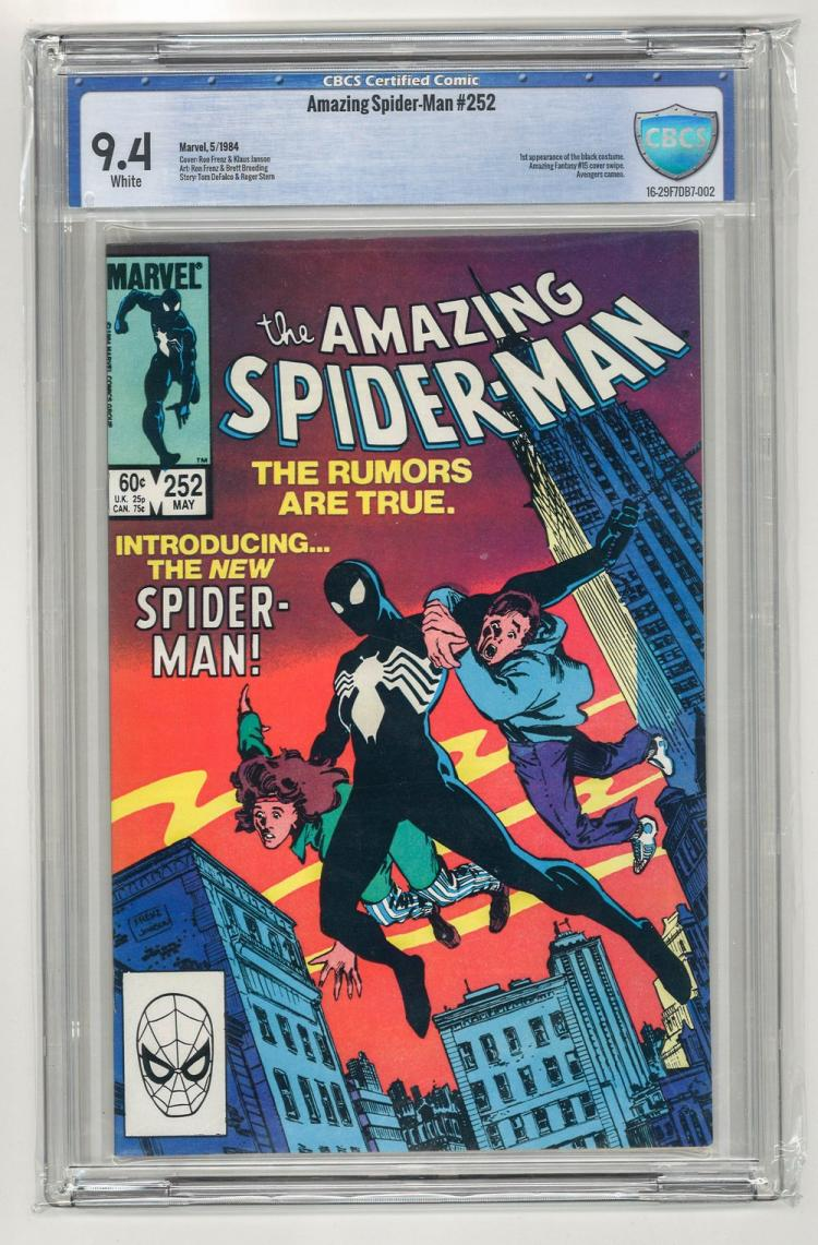CBCS 9.4 Amazing Spider-Man #252 1984