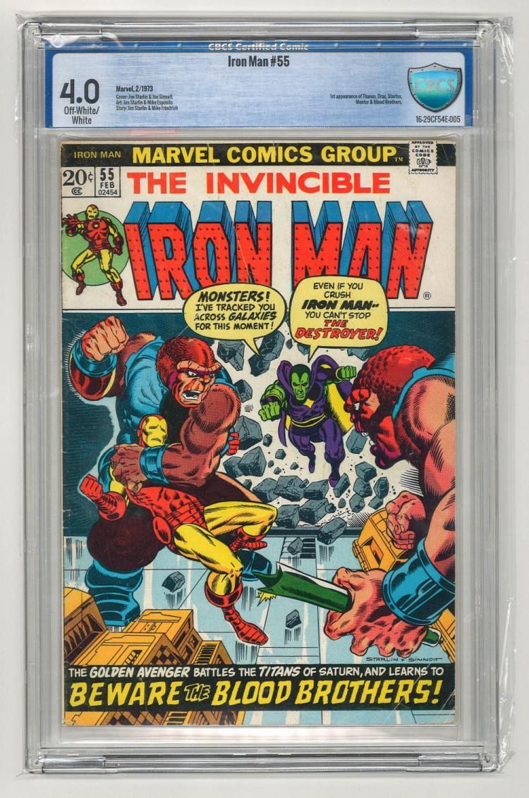 CBCS 4.0 Iron Man #55 1973