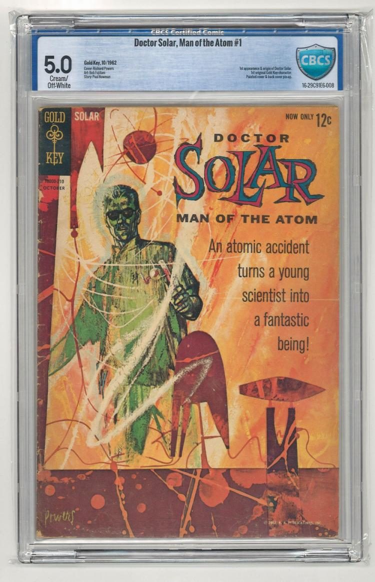 CBCS 5.0 Doctor Solar, Man of the Atom #1 1962