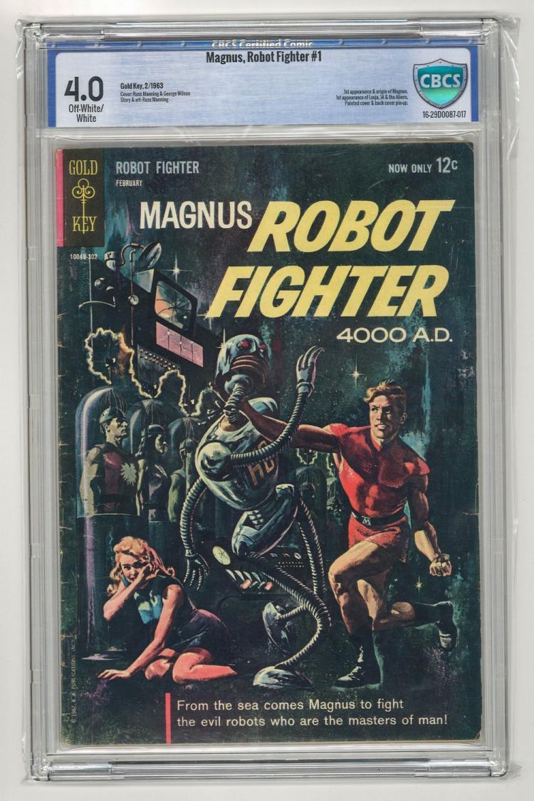 CBCS 4.0 Magnus, Robot Fighter #1 1963