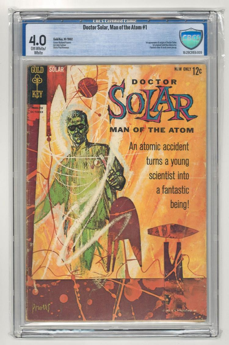 CBCS 4.0 Doctor Solar, Man of the Atom #1 1962