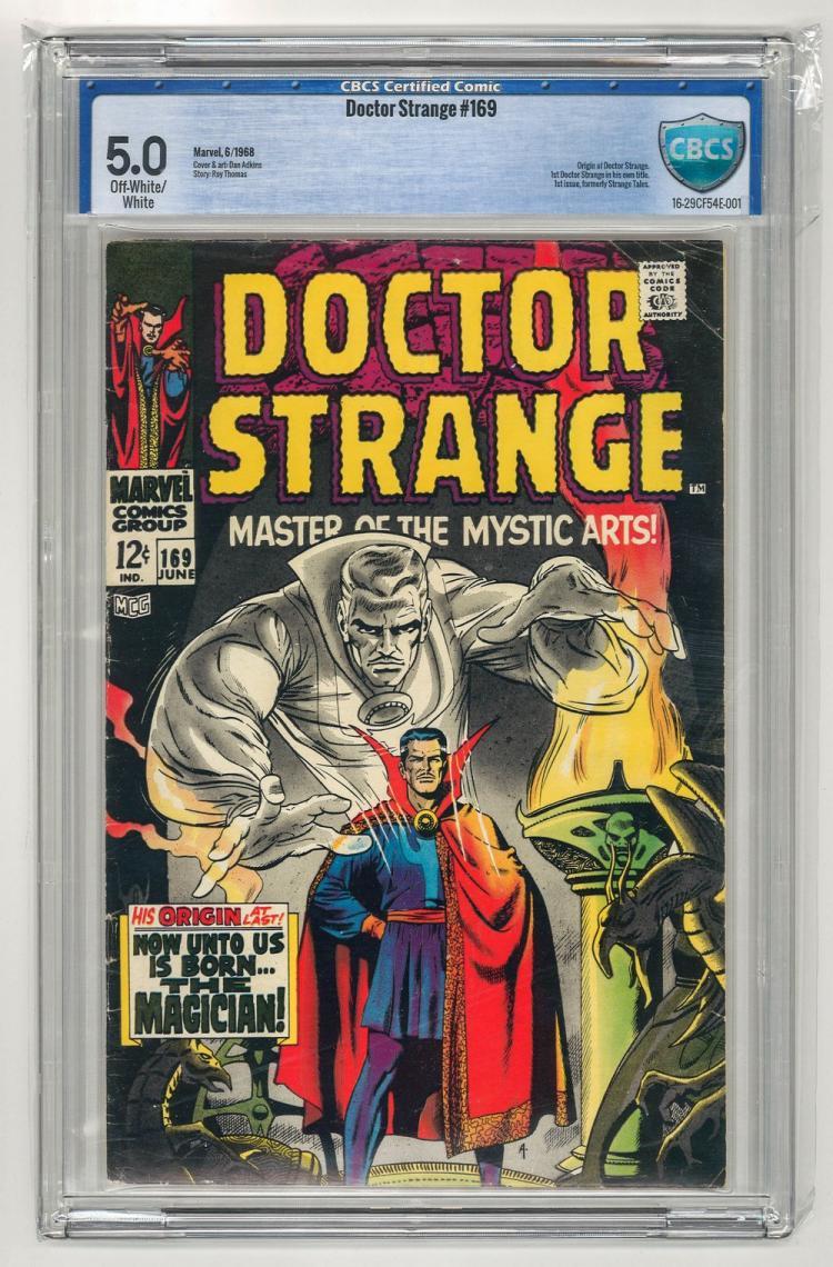 CBCS 5.0 Doctor Strange #169 1968