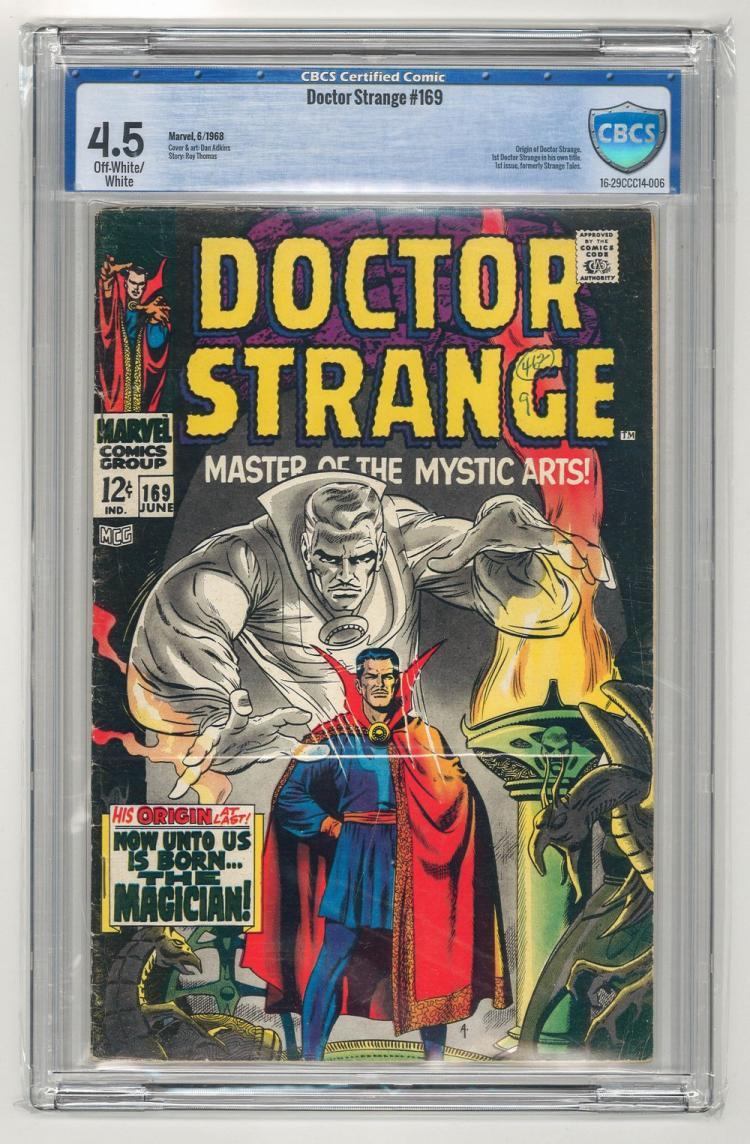 CBCS 4.5 Doctor Strange #169 1968
