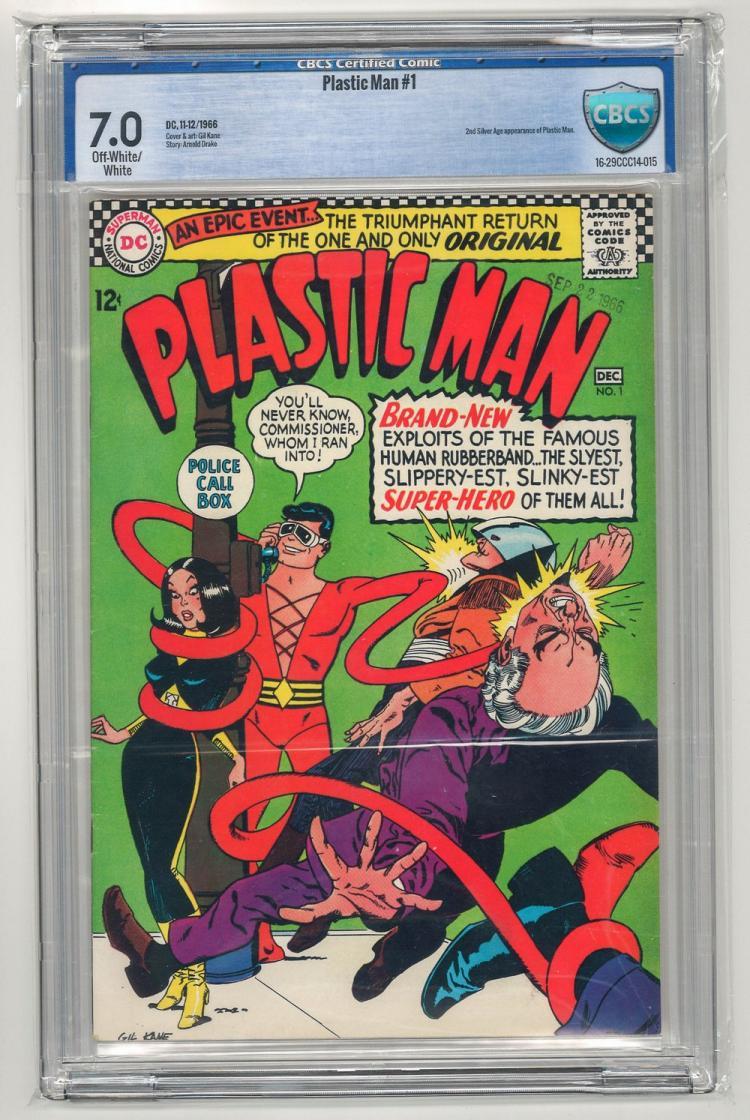 CBCS 7.0 Plastic Man #1 1966
