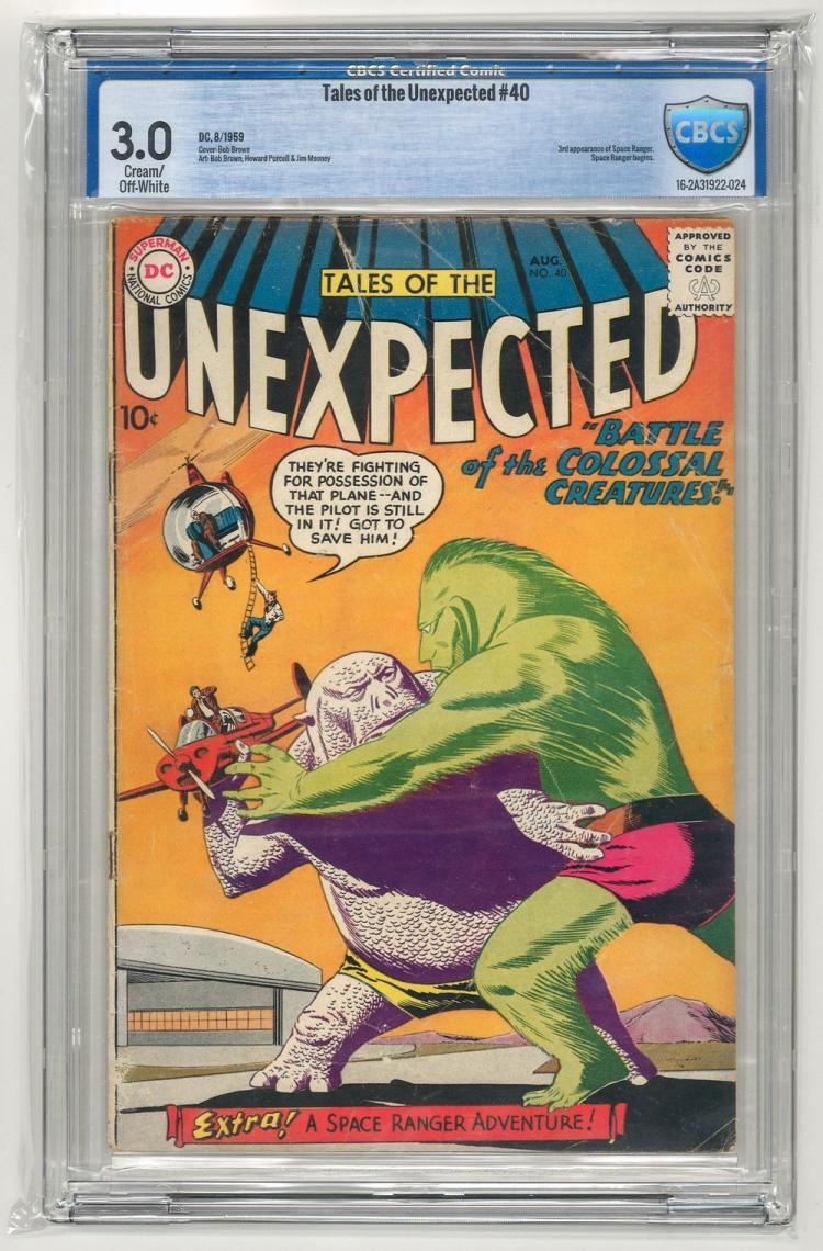 CBCS 3.0 Tales of the Unexpected #40 1959