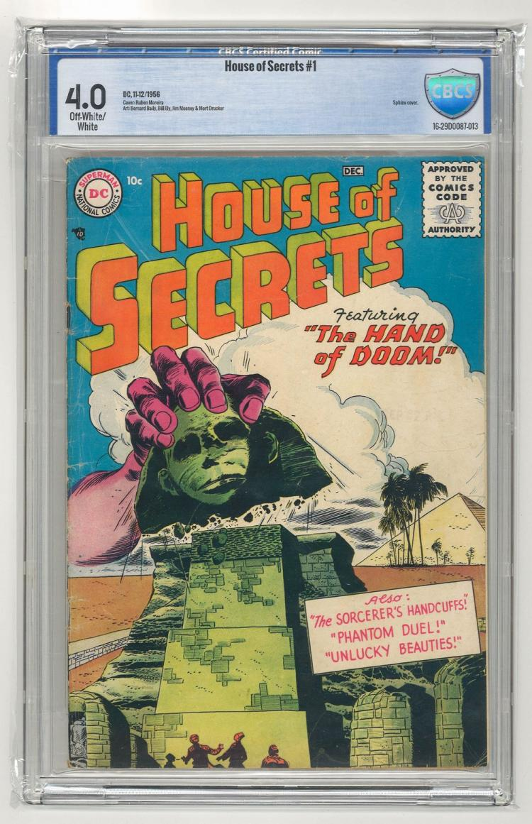 CBCS 4.0 House of Secrets #1 1956