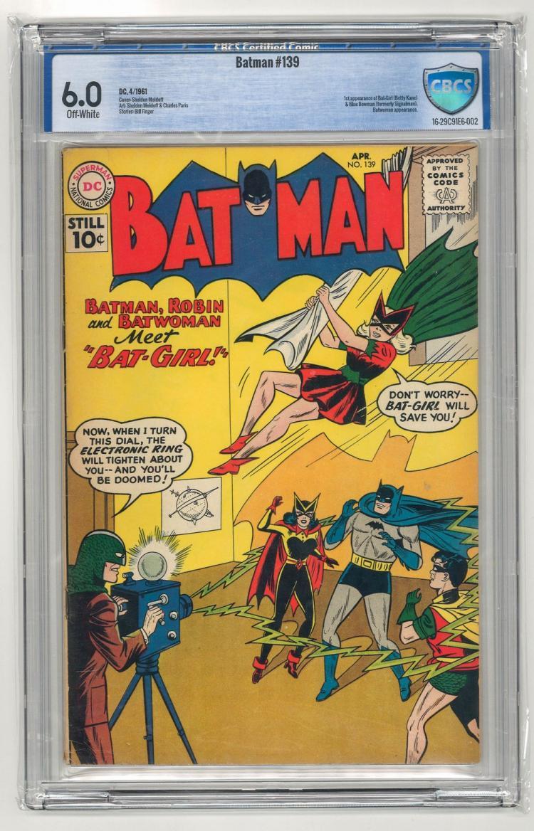 CBCS 6.0 Batman #139 1961