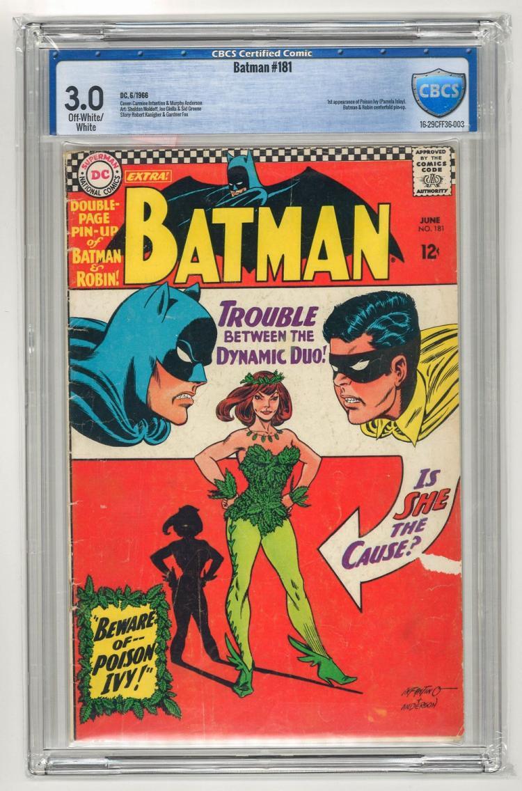 CBCS 3.0 Batman #181 1966