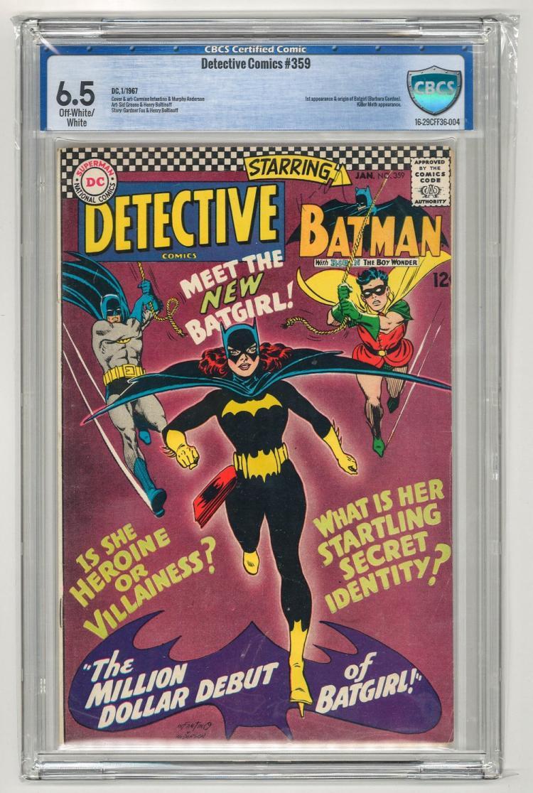 CBCS 6.5 Detective Comics #359 1967