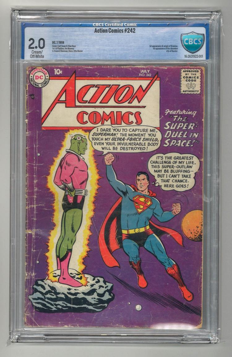 CBCS 2.0 Action Comics #242 1958